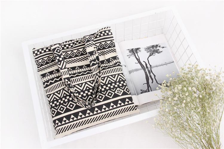 Handmade Cotton Cloth Hobo Handbag Shoulder Tote Bags for Women & Girl (3)