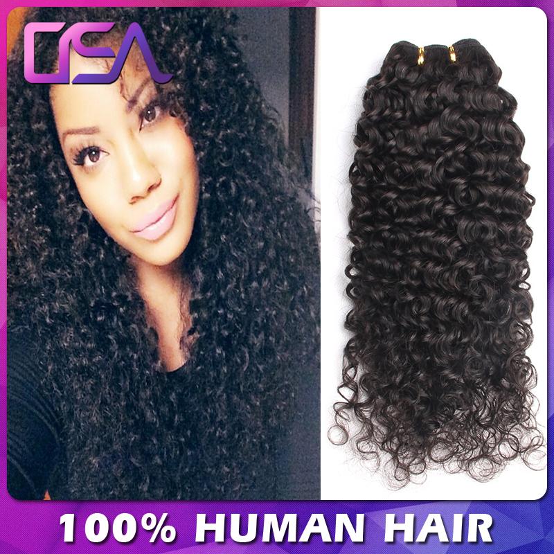 Indian Curly Virgin Hair 4Bundles Cheap Indian Virgin Human Hair Natural Afro Kinky Curly tight weave VIP Modern Show Hair 1b(China (Mainland))