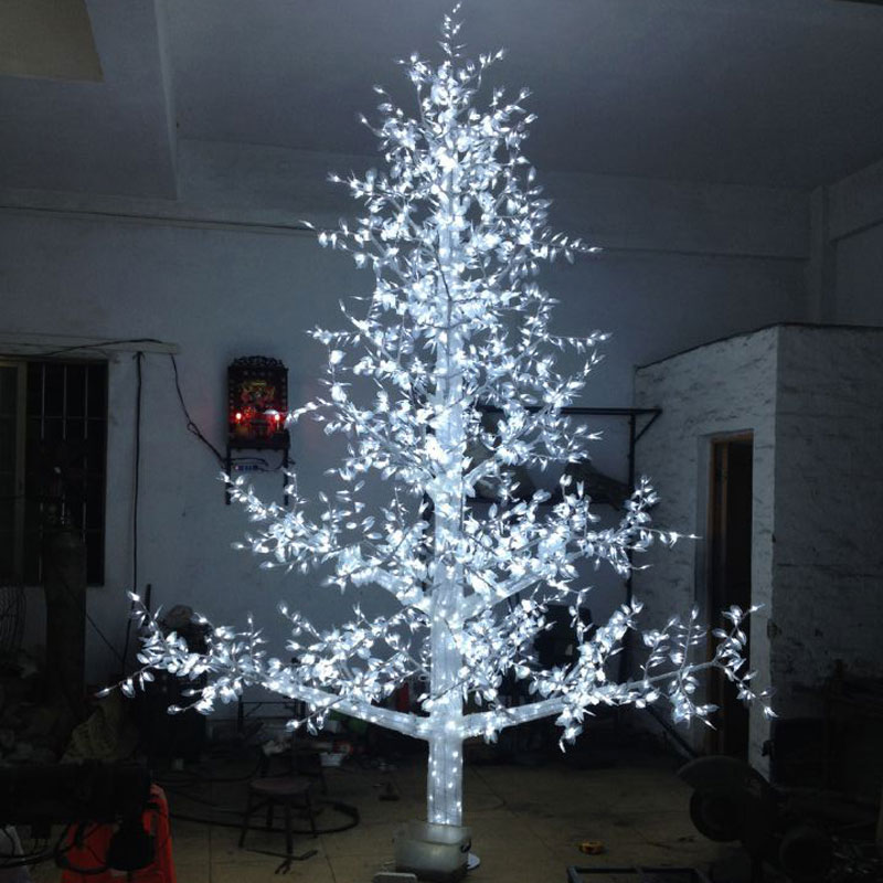 4Meters 3456LEDS light bulb christmas decorations christmas tree outdoor lights from China garden lighting suppliers(China (Mainland))