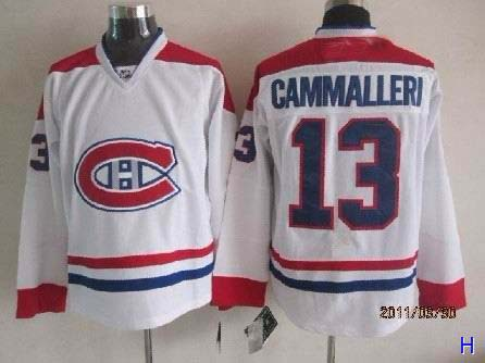 High Quality Mens Montreal Canadiens Jersey #13 CAMMALLERI White Hockey Jersey Accept Retail And Mixed Orders Size M-3XL<br><br>Aliexpress