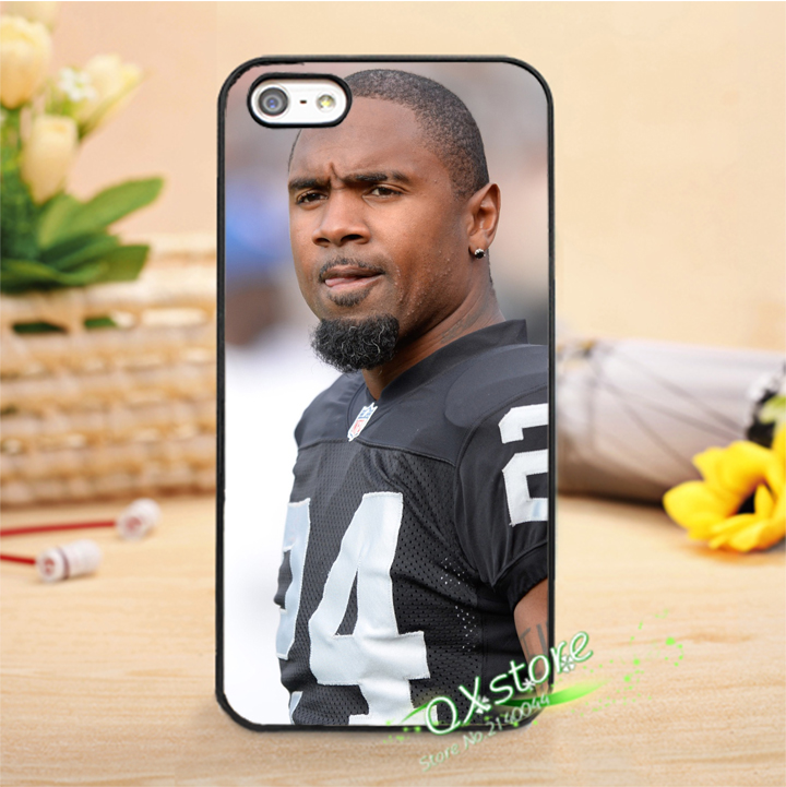 Charles woodson Oakland raiders American football fashion phone cover case for iphone 4 4s 5 5s 5c 6 6s 6plus & 6s plus #F1046(China (Mainland))