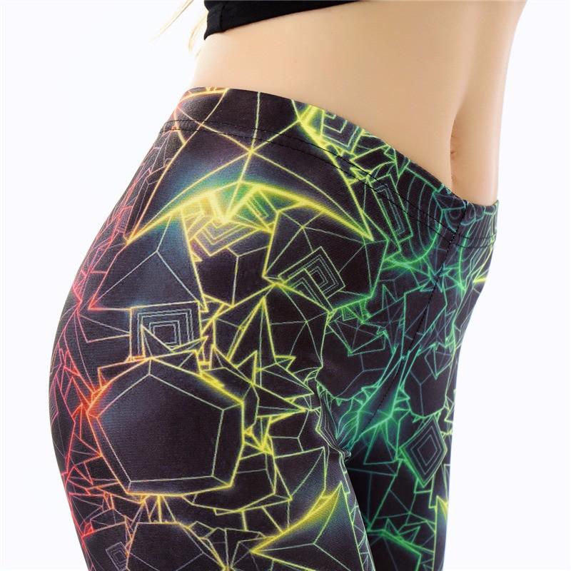 Fitness 3D Printed Leggings