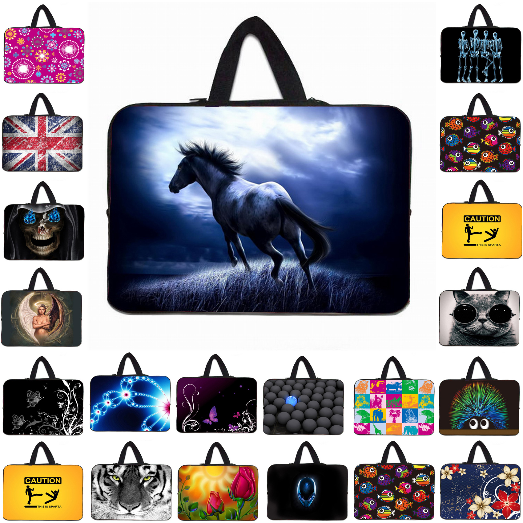"""14"""" inch Notebook Zipper Liner Pouch Soft Neoprene Protective Bag For Dell ASUS Acer Lenovo 14.1 14.4 inch Laptops Mini Computer(China (Mainland))"""