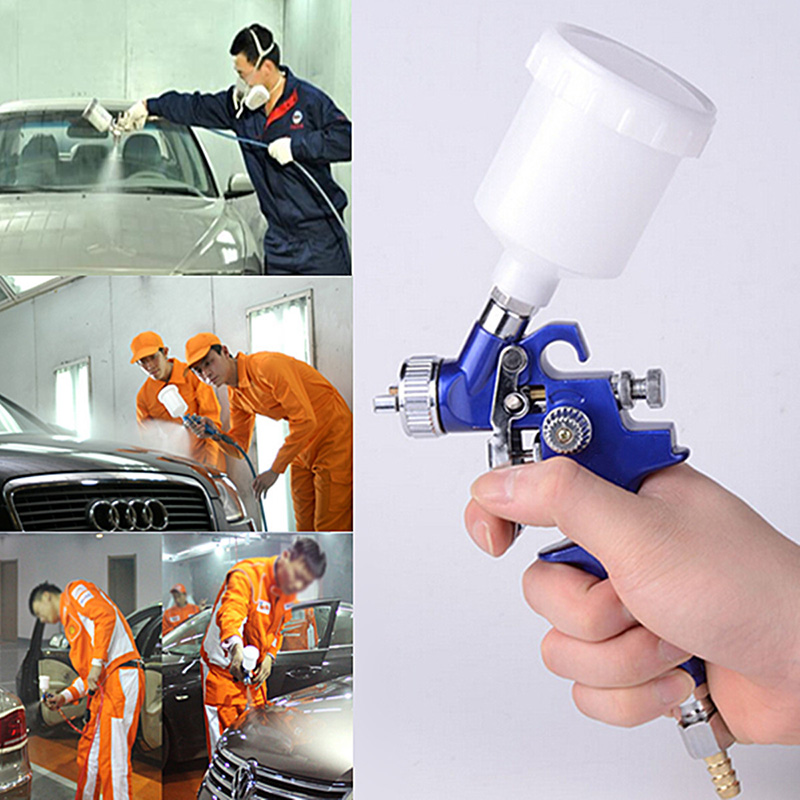 Professional spray gun spray gun Auto Car Kit 125ml 3 bar 0.8 mm 60 x 60 mm very atomization 1 PC(China (Mainland))