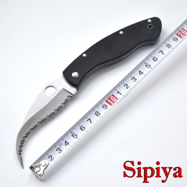 Buy Top selling CPM-S30V blade camping survival folding knife C12GS folding knife VG10 handle Tactical Survival C12 Hunting Knife cheap
