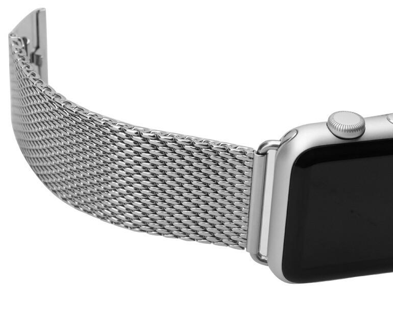 Новый оригинальный ремешок для часов браслеты нержавеющая сталь запястье ремешок для iWatch 38 мм 42 мм