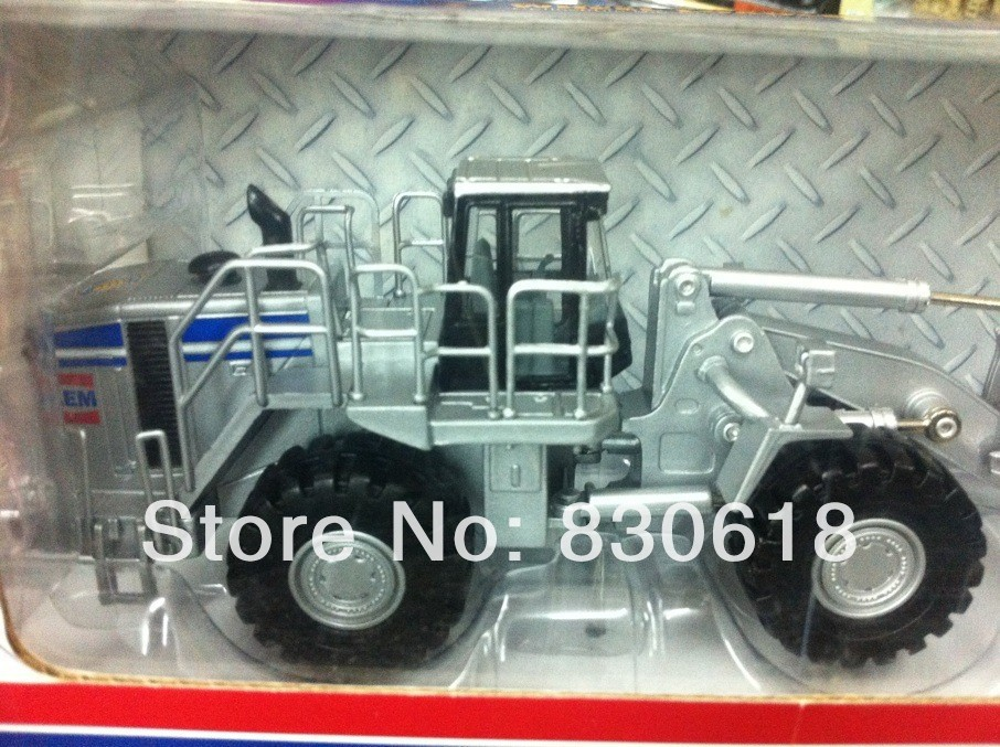 norscot 1:50 AEM limited edition wheel loader sliver free shipping toy