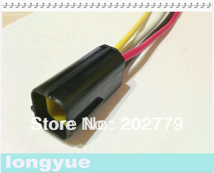 Wiring Pigtails For Automotive : Longyue sets universal pin pigtail connector