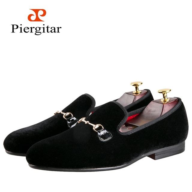Высокая - конец пользовательских пряжки черный и красный мужской обуви мужская ну ...