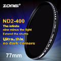 Zomei 77mm Fader Variable ND Filter Adjustable ND2 to ND400 ND2 400 Neutral Density for Canon