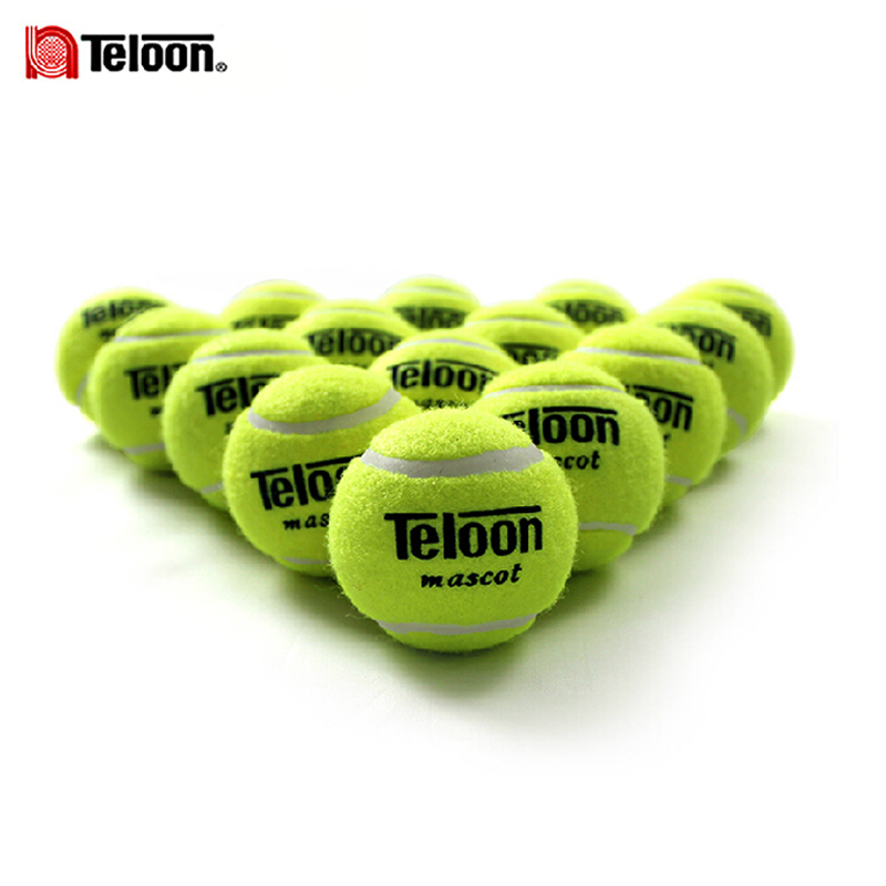 801 Brand New High Resilience Tennis Ball Durable Tranning Exercise Practice Tennis Ball Fast Free Shipping 12PCS/lot(China (Mainland))