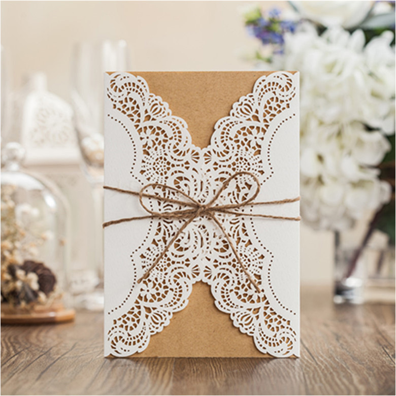 Vintage-Laser-Cut-Wedding-Birthday-Party-Baby-Shower-Invitations-White-Card-Insert-Card-Envelope-free-Customized