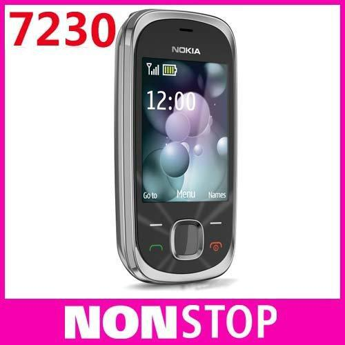 7230 Original Nokia 7230 Bluetooth FM JAVA 3.15MP Unlock Cell Phones In Stock(China (Mainland))