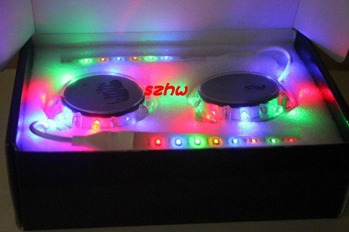 2pcs Solar LED wheel lights, LED car glare wheels, Crystals plastic shell, traffic safety warning, easy to install, free ship<br><br>Aliexpress