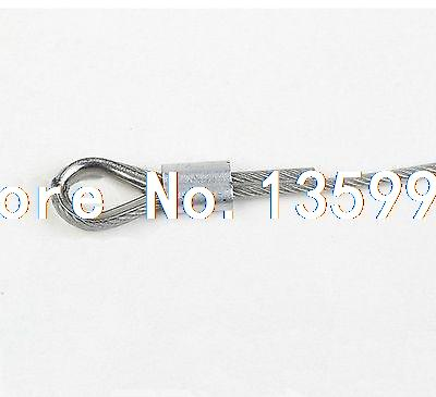 2PCS M24 Stainless Steel Wire Rope Cable Thimble Galvanized For Wire Rope Cable(China (Mainland))