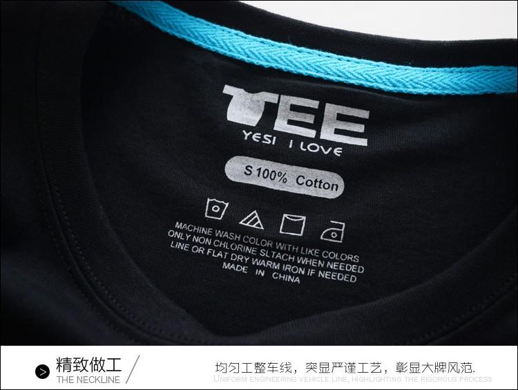 Long Sleeve Tshirt Brand Men 100% Cotton Ironman Shirt Luminous T-shirt Cute Underwears Geek Punk DJ Night Club Clothes ZX401