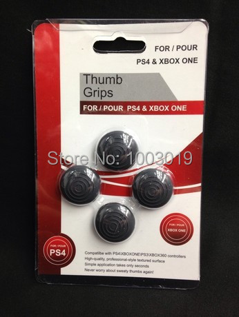 Thumb grips joystick silicone cover caps skin for PS3 PS4 Xbox one xbox360 controllers Wireless(China (Mainland))
