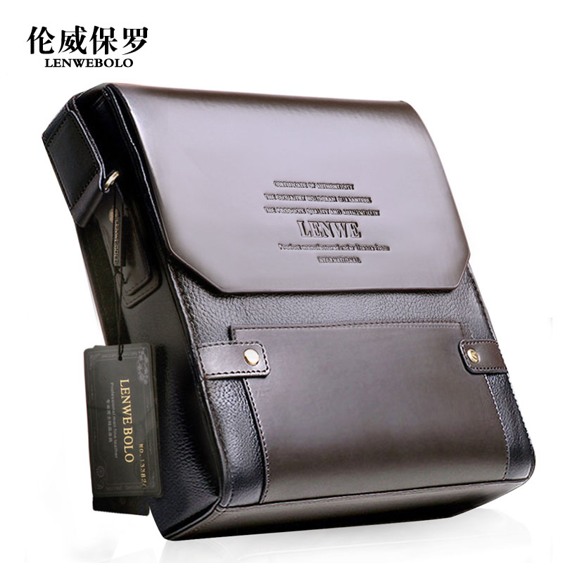 Classic Fashion New men faux leather shoulder bag small business briefcase bag High quality men messenger bags(China (Mainland))