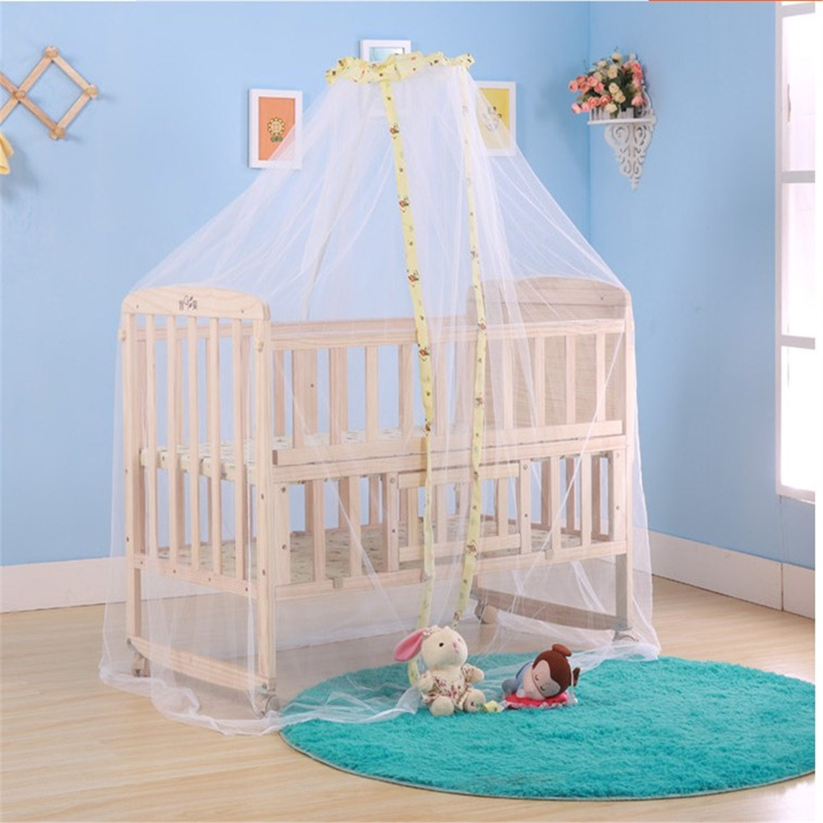 Baby crib yellow - Infant Baby Protect Summer Mosquito Net Newborn Crib Cot Bed Accessories Lovely Design Toddler Favor Durable