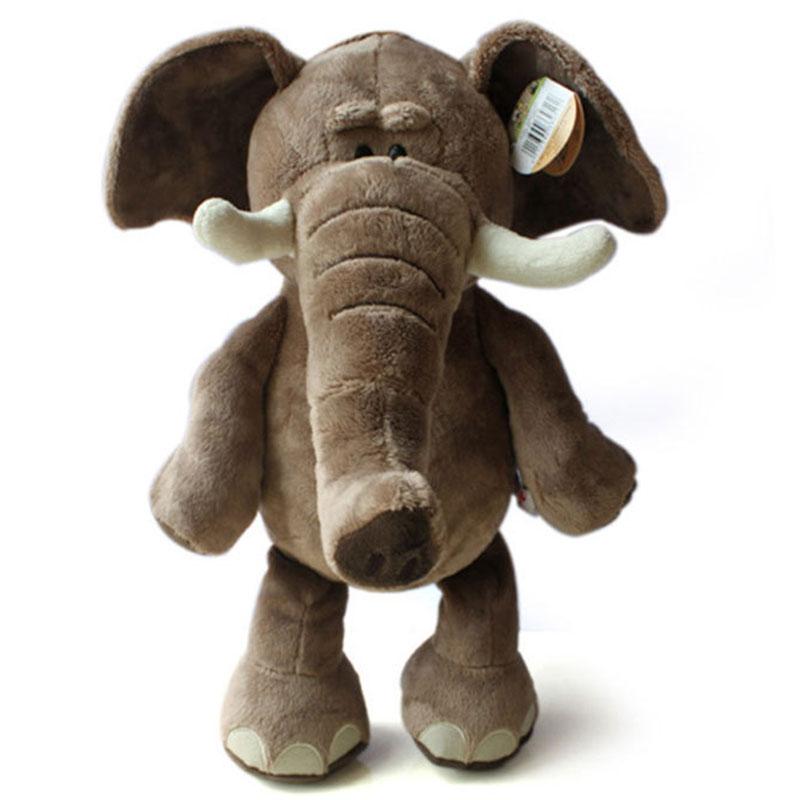 Kids Plush Toys New Arrival Lovely Plush Toy Elephant 35cm High Quality Plush Toys Stuffed Doll Drop Shipping HT443(China (Mainland))