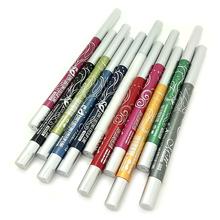12pcs/lot New Brand Makeup Waterproof Black Liquid Eyeliner Make Up Rotary Retractable Eye Liner Pencil Eyeliner Pen Cosmetics(China (Mainland))