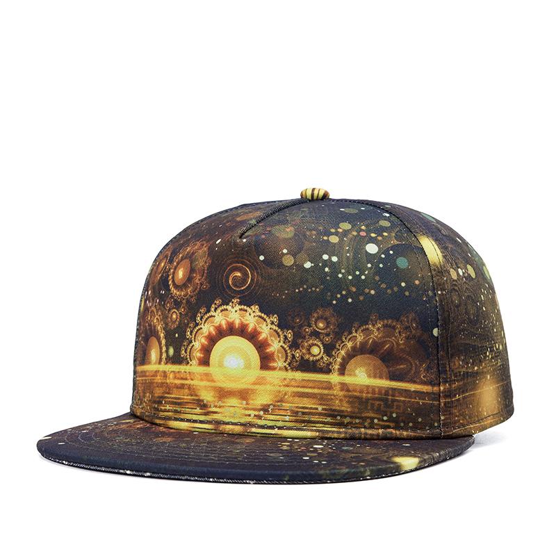 2016 new gold snapback hat adjustable skateboard