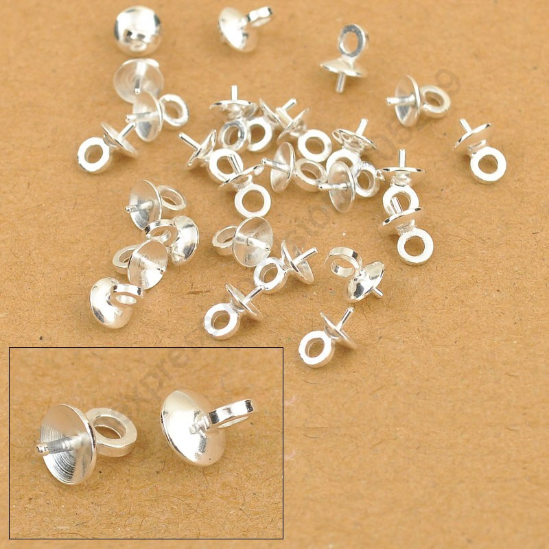 5mm wholesale 100pcs diy jewelry findings 925 sterling