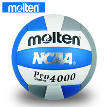 Free Shipping Brand New Molten Official Size 5 PU Training Volleyball High Quality Soft Touch V58X-N Balloon Volleyball(China (Mainland))