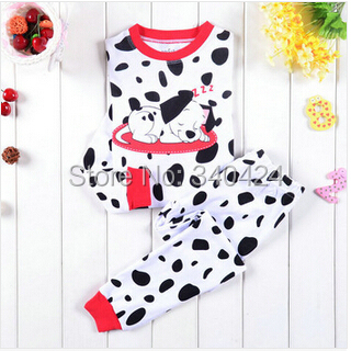 Super cute dog sleepwear suit for children boys and girls clothing suits , 0-8Y cotton dog figure infant pajamas for new year<br><br>Aliexpress