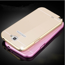 Protective Metal Case For Samsung Note 2 II N7100 Hot New Luxury Slim Aluminum Frame & PC Back Cover Case For Samsung Note2(China (Mainland))
