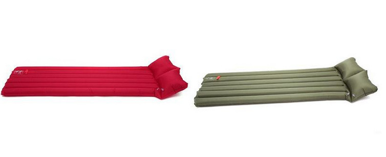 Outdoor Products, Beautiful and Easy Single Water Inflatable Bed, Amphibious Air Cushion Pillow(China (Mainland))