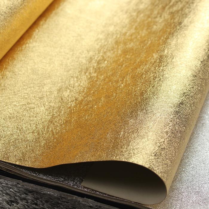 Plain gold flower wallpaper gold foil wallpaper ceiling for Cheap plain wallpaper