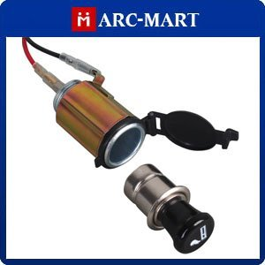 DC 12V 120W Car Motorcycle Cigarette Lighter Power Socket  with Waterproof Cover #ST086