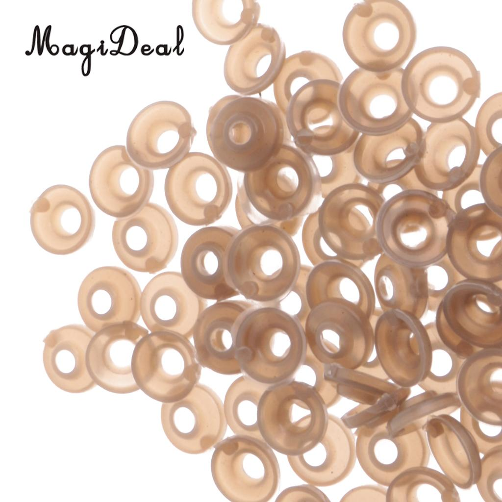 Hot Sale 100 Pieces 11mm Plastic Safety Eyes Nose Washer Back for Bear Doll Plush Animal DIY Craft Toys