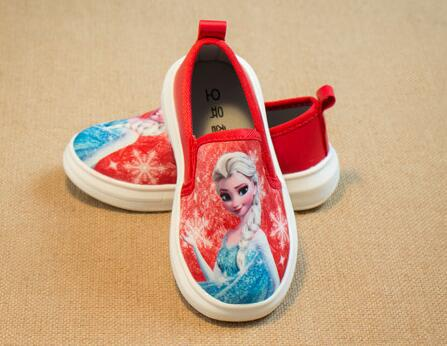 Children Shoes Spiderman Elsa, Anna 2015 New Girls Boys Kids Size 21-36 Fashion Sneakers - SAR store