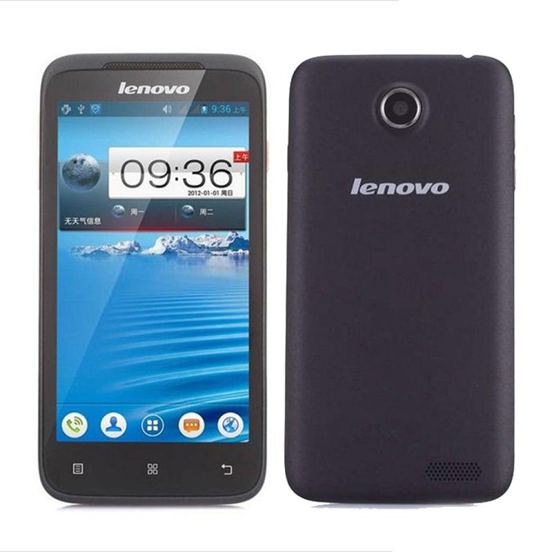 Original Lenovo A398t 4.5 inch Screen Dual SIM Cheap Mobile phone Android 4.0 Dual Core 5MP WIFI 4GB ROM Russia Language(China (Mainland))