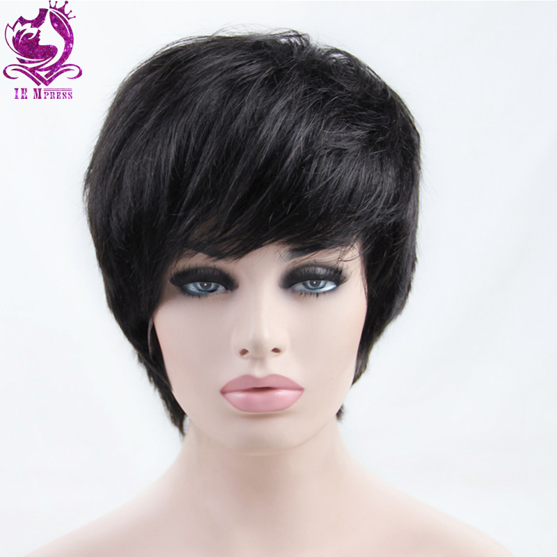 Brazilian Short Human Hair bob Wigs Full Lace Human Hair Wigs For Black Women Lace Front Wig With Baby Hair Natural Hairline(China (Mainland))