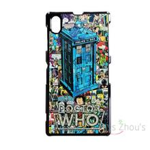 For iphone 4/4s 5/5s 5c SE 6/6s 7 plus ipod touch 4/5/6 back skins mobile cellphone cases cover DOCTOR WHO TARDIS COMIC