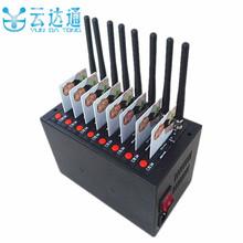 Promotion Cheapest Bulk sms 8 port gsm modem wavecom 8 sim card gsm sms modem pool(China (Mainland))
