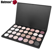 28 Colors Neutral Warm Eyeshadow Palette Professional Makeup Cosmetic Palette Brush Kit Eye Shadow Cosmeticos Kit Dropship(China (Mainland))