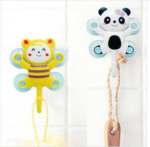 Many cartoon series four suction cups Stick a hook(China (Mainland))