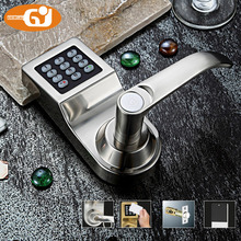 Keyless digital keypad password code spring bolt access electronic door locks(China (Mainland))