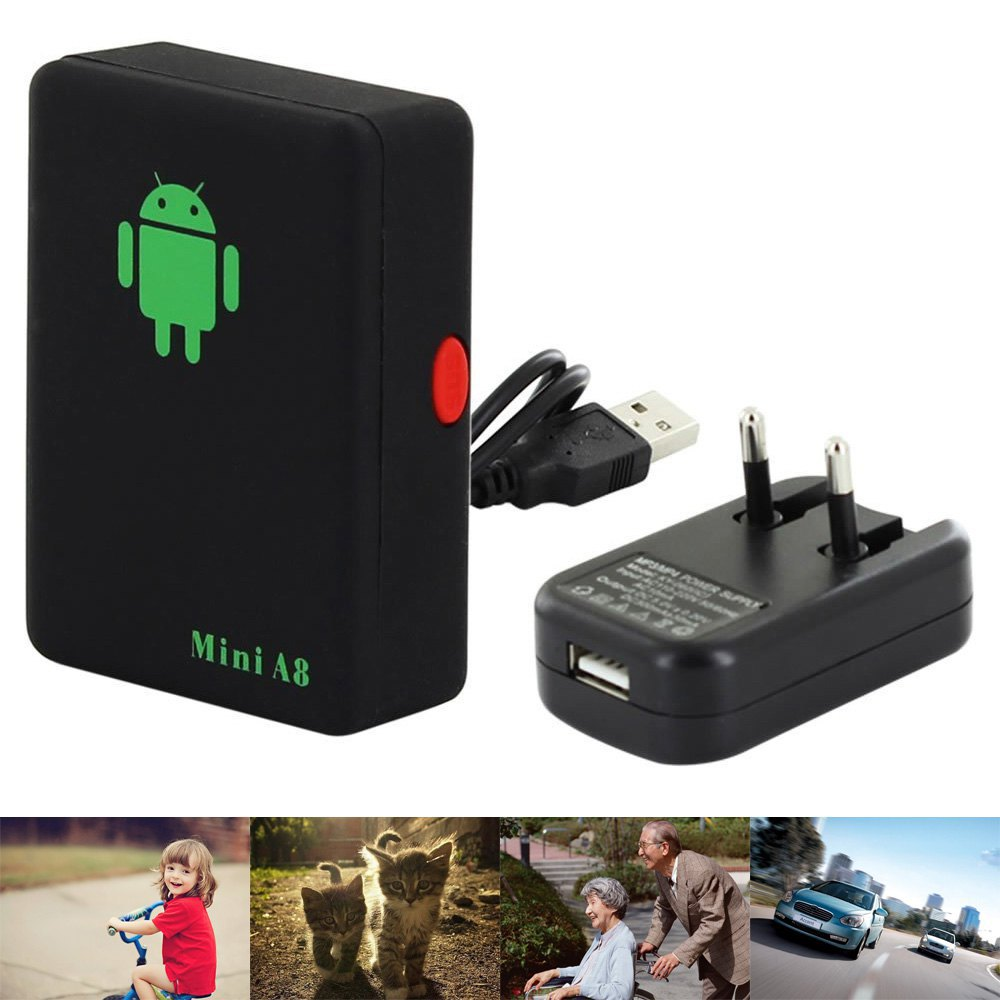 Mini A8 Car GPS Tracker Global Real Time 4 Bands GSM/GPRS Security Auto Tracking Device Support Android For Children Pet Vehicle(China (Mainland))