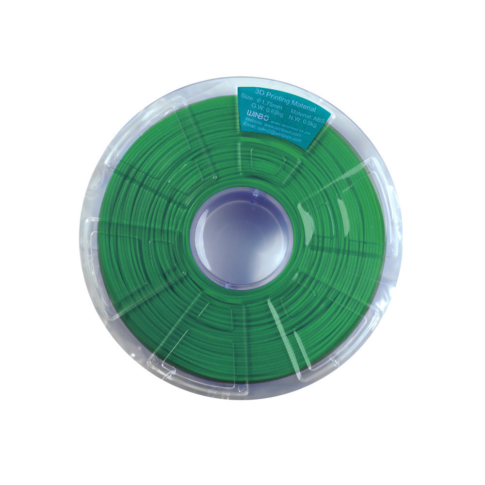 New DIY 200M 500g 3D Printer Filament Material 1.75mm ABS Drawing Pen Consumable Black/White/Red/Green/Blue Color