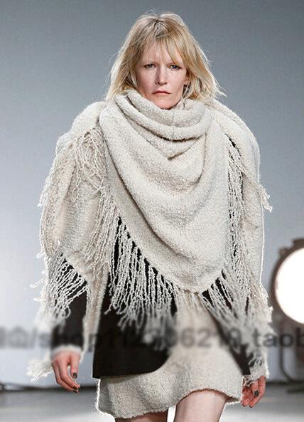 winter warm wool scarf 2015 new european and american big