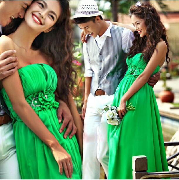 Новый тонкий моды свадебное платье элегантный этаж Длина свадебное платье Продажа хорошего качества hs310145