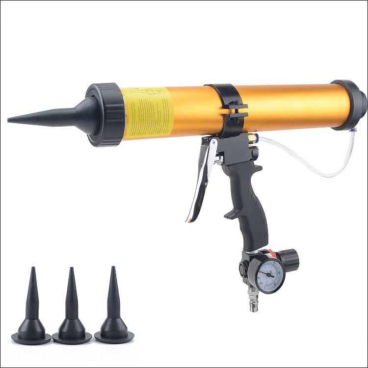 High Quality 10 inches 400ml Pneumatic Caulking Gun for Sausage Glass Glue Gun Air Rubber Gun Tool <br><br>Aliexpress