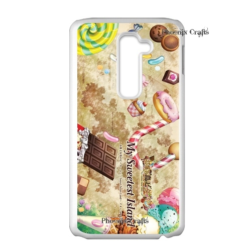 Retro Vintage Sweetheart cake Canada Designs front cover clone caso Hard plastic case for lg2 Launch(China (Mainland))