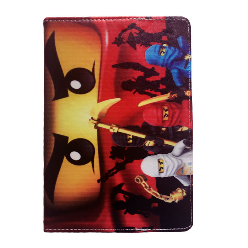 """Legoes Ninjagoes Ninja Stand Leather Cover Case for 7"""" HP Stream 7 Windows 8.1 Tablet +Stylus Pen(China (Mainland))"""