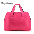 Meiyashidun Big Capacity Folding Waterproof fitness Travel Luggage bag portable Unisex Shoulder Handbag Clutch Weekend trip